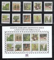 Simbabwe 2015**, Tourismus Bei Den Viktoria-Fällen, Baobab / Zimbabwe 2015, MNH, Victoria Falls, Baobab - Sukkulenten