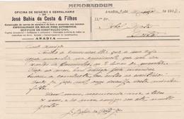 PORTUGAL COMMERCIAL DOCUMENT - ANADIA - JOSÉ BAHIA DA COSTA & FILHOS - Portugal