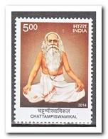 India 2014, Postfris MNH, Chattampiswamikal - India