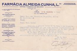 PORTUGAL COMMERCIAL DOCUMENT - PORTO - FARMACIA ALMEIDA CUNHA - Portugal