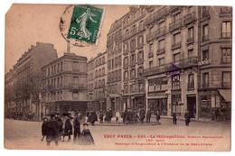 3711 - Paris ( XIe ) - Le Métropolitain , Station Parmentier - Tout Paris - F.Fleury N°654 - - Reims