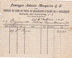 PORTUGAL COMMERCIAL DOCUMENT - LISBOA - DOMINGOS ANTÓNIO MOSQUEIRA - Portugal