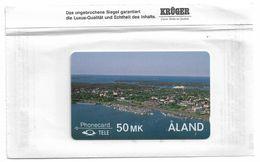 Aland - View Of Mariehamn - 2FIND - 1990, 25.000ex, Mint (Kruger) - Aland