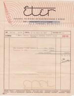 PORTUGAL COMMERCIAL DOCUMENT - PORTO - ESTUDOS TÉCNICOS DE ELECTRICIDADE E RÁDIO - Portugal