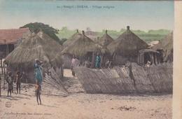 SENEGAL. DAKAR. VILLAGE INDIGENE. Mme BOUCHUT. CIRCA 1910s NON CIRCULEE - BLEUP - Senegal