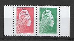 France 2018 - Marianne L'engagée ** (les 2 Valeurs.gommées Du Carnet) - France