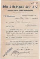 PORTUGAL COMMERCIAL DOCUMENT - PORTO - BRITO & RODRIGUES - CEREAIS - LEGUMES E FARINHAS - Portugal