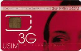 IM Technologies 3G USIM GSM Freedom, Transparent Card, Mint - Télécartes