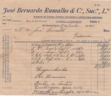 PORTUGAL COMMERCIAL DOCUMENT - GUIMARÃES - JOSÉ BERNARDO RAMALHO - Portugal