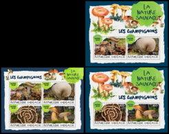 TOGO 2018 **MNH Mushrooms Pilze Champignons M/S+2M/S (2) - OFFICIAL ISSUE - DH1901 - Champignons