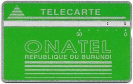 Burundi - LG - Onatel - Green Logo - 406A - 50U - 50.000ex, Used - Burundi