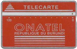 Burundi - LG - Onatel - Green Logo - 406A - 120U - 8.000ex, Used - Burundi