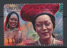 °°° BURUNDI - KHADJA NIN - 2012 °°° - Burundi