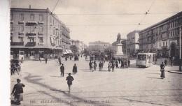ALEXANDRIA. MEHEMET ALI SQUARE. LL. TRAMWAY. VINGAGE SCENE. CIRCA 1910s NON CIRCULEE - BLEUP - Alexandrie