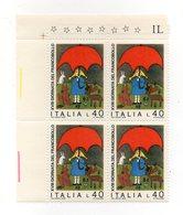 Italia - Repubblica - 1976 - Quartina Da 40 Lire 18^ Giornata Del Francobollo - Salviamo La Natura - Nuova - (FDC13648) - 6. 1946-.. Repubblica