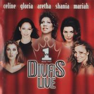 CD Divas Live Celine Dion Mariah Shania Aretha Gloria - Autres