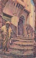 ALGER. DANS LA CABAH. RUE BOULABAH. ED ARTISTIQUES PS. CIRCA 1930s NON CIRCULEE - BLEUP - Algerije