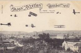 Dijon-Aviation - Dijon - Vue Prise Du Haut Du Creux D'Enfer 22-25 Septembre 1910 - Avions