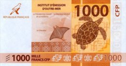Polynésie Française - 1000 FCFP - 2014 - N° 482427 A1 / Signatures Noyer-de Seze-La Cognata - Neuf  / Jamais Circulé - Papeete (Polynésie Française 1914-1985)