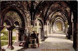 GAND-GENT - Abbaye De St-Bavon - Le Cloître - Edit. Mme Van Hooren, Concierge Des Ruines De L'Abbaye - Gent