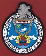 Polynésie Française / Tahiti - Gendarmerie - Brigade Motorisée (BMO) - Modèle Plastifié / 2017 - Polizei