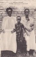 Mission D'Afrique - Urundi - Chef Chrétien Et Sa Petite Famille - Ruanda-Urundi