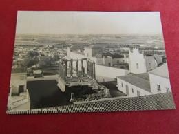 Portugal - Evora - Vista Parcial Com O Templo De Diana - Evora