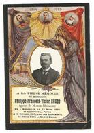 Doodsprentje Spion Brussel + Gefusilleerd Schaarbeek 1915 - Santini