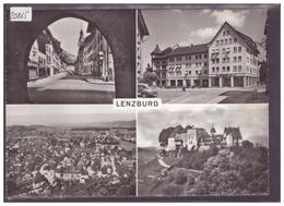 GRÖSSE 10x15cm - LENZBURG - TB - AG Argovie