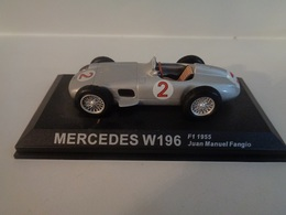 MERCEDES W196-Vainqueur Championnat Du Monde F1 1955 # 2  J.M Fangio -1/43 -100 Ans De Course Automobile-Altaya - Other