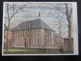 Postkarte Haus Der Deutschen Erziehung Bayreuth - Deutschland