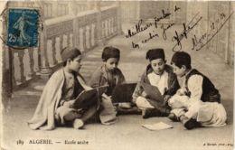 CPA Ecole Arabe, ALGERIE (794154) - Algérie