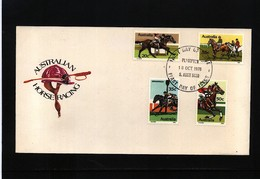 Australia 1978 Horse Racing FDC - Reitsport
