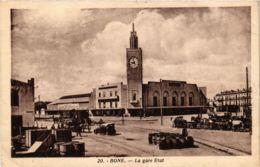 CPA Bone- La Gare Etat, ALGERIE (794441) - Annaba (Bône)