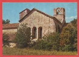 """C.P.M.( 13 )  """" LA ROQUE D'ANTHERON """" Eglise De L'Abbaye De SILVACANE (Face Sud-Est )   X 2 Photos - Autres Communes"""