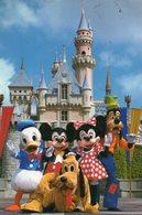 1988 CARTOLINA - Disneyland