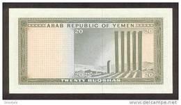 YEMEN ARAB  P. 5 20 B 1966 UNC - Yémen