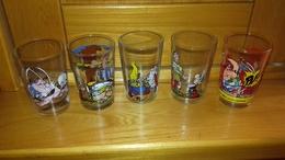 5 Verres A Moutarde Asterix Et Obelix - Verres