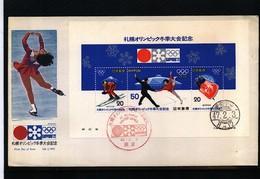 Japan 1972 Olympic Games Sapporo Interesting Letter - Winter 1972: Sapporo