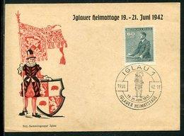"""Boehmen Und Maehren / 1942 / Sonderkarte """"Iglauer Heimattage"""", Sonderstempel 100 (4/320) - Boemia E Moravia"""