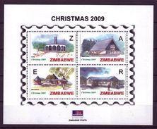 Zimbabwe 2009 Christmas Mini-Sheet, MNH / Mint / ** (Simbabwe) - Zimbabwe (1980-...)