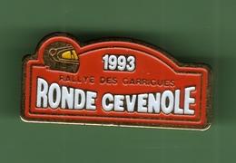 RALLYE DES GARRIGUES *** RONDE CEVENOLE 1993 *** 0099 - Car Racing - F1