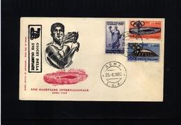 Italy / Italien 1960 Olympic Games Rome Interesting Letter - Sommer 1960: Rom