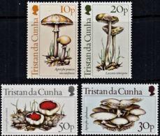 A0154 TRISTAN DA CUNHA 1984, SG 369-72  Fungi, MNH - Tristan Da Cunha