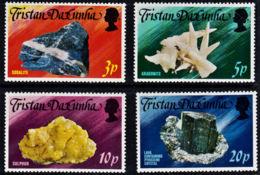 A0157 TRISTAN DA CUNHA 1978, SG 242-5  Local Minerals, MNH - Tristan Da Cunha