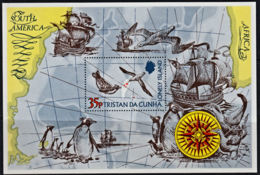 A5244 TRISTAN DA CUNHA 1974, SG MS192 The Lonely Island,  MNH - Tristan Da Cunha