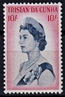 B0255 TRISTAN DA CUNHA 1965, SG 84 Queen Elizabeth II 10s,  MNH - Tristan Da Cunha
