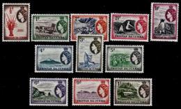 D0004 TRISTAN DA CUNHA 1954, SG 14-24  Views, Maritime Scenes,  Mounted Mint To 1s - Tristan Da Cunha