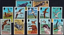 D5005 TRISTAN DA CUNHA 1977, SG 220-31 Sea Birds, MNH - Tristan Da Cunha