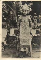 Indonesia, BALI, Beautiful Young Legong Dancer Girl (1938) Postcard - Indonesia